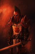 Scarlet Crusader by Norbert Toth