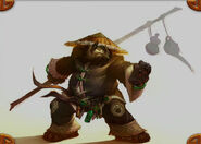 Pandaren early concept art