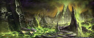 Shadowmoon Valley Concept Art Peter Lee 1