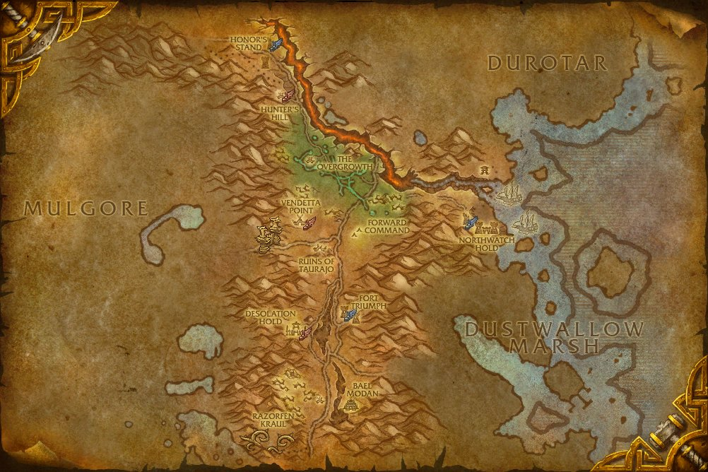 Southern Barrens