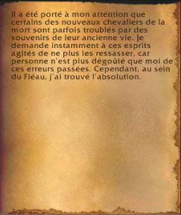 Les mémoires du seigneur Thorval