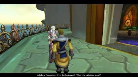 World of Warcraft - Cinematic - Quest Fate of Dalaran