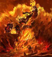 Ragnaros par Dante Liu