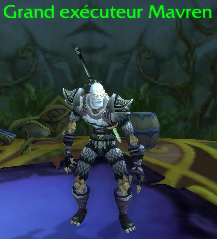 Grand exécuteur Mavren