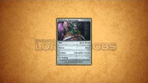 Lore For Noobs - Malfurion Stormrage (Part 2)