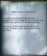 Dame Mara Fordragon (objet)