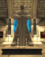 Llane Wrynn I statue