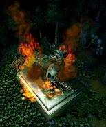 Cenarius burning