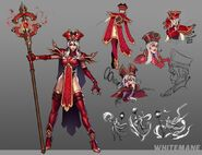 Heroes of the Storm Sally Whitemane concept art