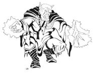 Klasse Warlock Orc Male