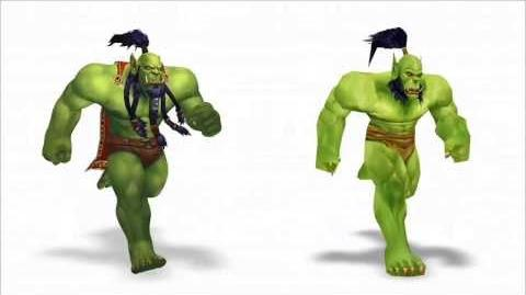 Warlords of Draenor - New Character Models and Animations