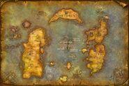 Azeroth New World Map