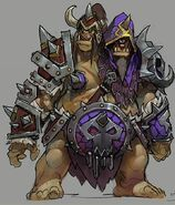 Chogall Heroes concept art