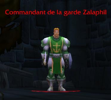 Commandant de la garde Zalaphil