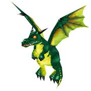 Grüner Drachenwelpe
