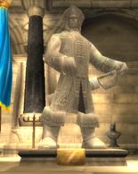 Statue de daelin
