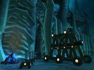 Цитадель Ледяной Короны разрушенная дверь