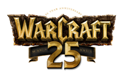 Warcraft 25th Anniversary logo.png