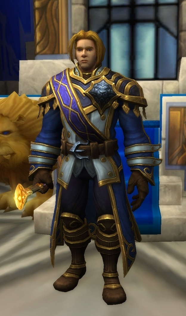 Anduin Wrynn - Wowpedia - Your wiki guide to the World of Warcraft