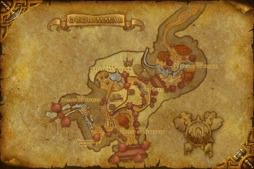 Orgrimmar map