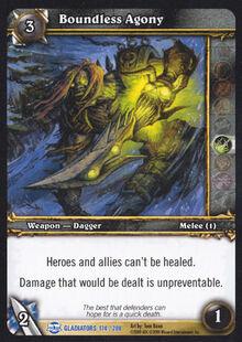 Boundless Agony TCG Card Gladiators.jpg