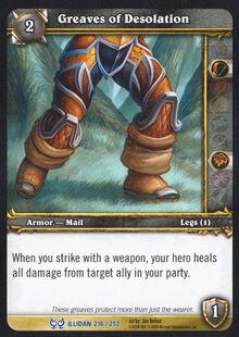 Greaves of Desolation TCG Card.jpg
