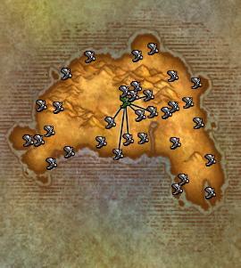 flight paths eastern kingdom wotlk.