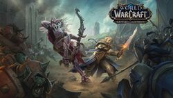 Anduin Sylvanas fight Wallpaper.jpg