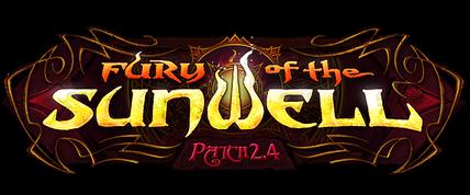 Fury of the Sunwell logo