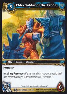 Elder Valdar of the Exodar TCG Card.jpg