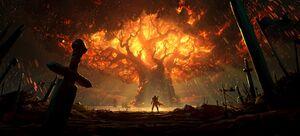 Teldrassil Burning.jpg