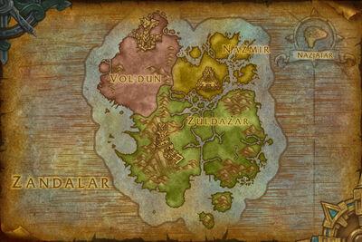Mapa de Zandalar