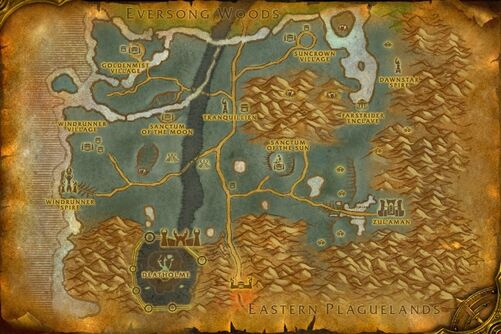Ghostlands map