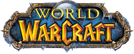 World of Warcraft: Wrath of the Lich King logo w/o subtext