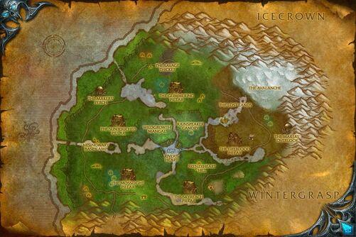 Sholazar Basin map