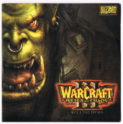 Warcraft III Rolling Demo front cover.png
