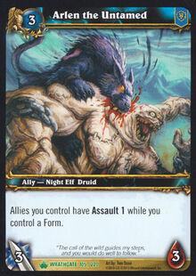Arlen the Untamed TCG Card.jpg