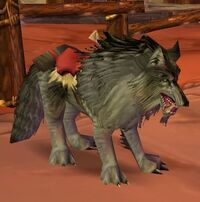 Image of Dire Riding Wolf