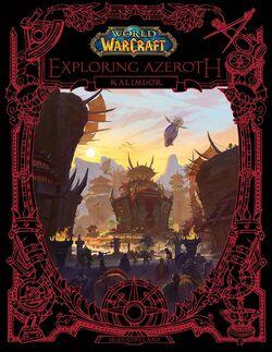World of Warcraft Exploring Azeroth Kalimdor cover.jpg