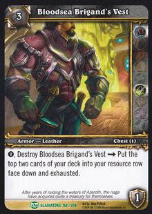 Bloodsea Brigand's Vest TCG Card.jpg