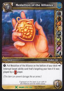 Medallion of the Alliance TCG Card.jpg