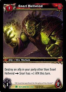 Snarl Hellwind TCG Card.jpg