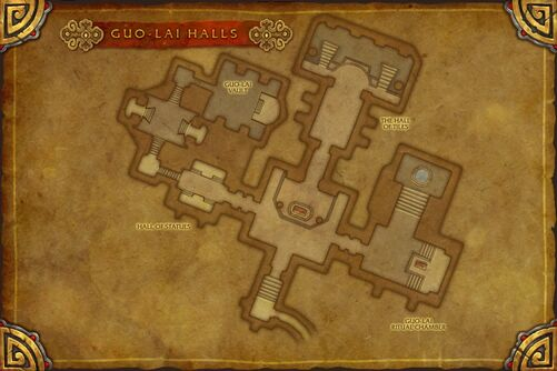 Guo-Lai Halls map