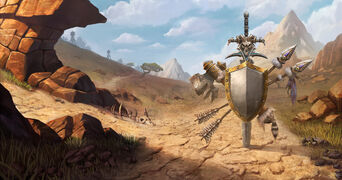 Warcraft III Reforged - Loading Screen Barrens Random.jpg