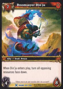 Doomsayer Din'ju TCG Card.jpg