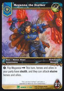 Meganna the Stalker TCG Card.jpg