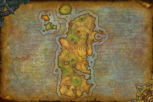 Kalimdor map