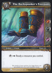 The Darkspeaker's Footpads TCG Card.jpg