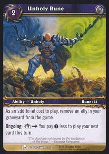 Unholy Rune TCG Card.jpg