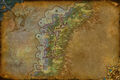 Map of Darkshore - Battle for Azeroth (Alliance)